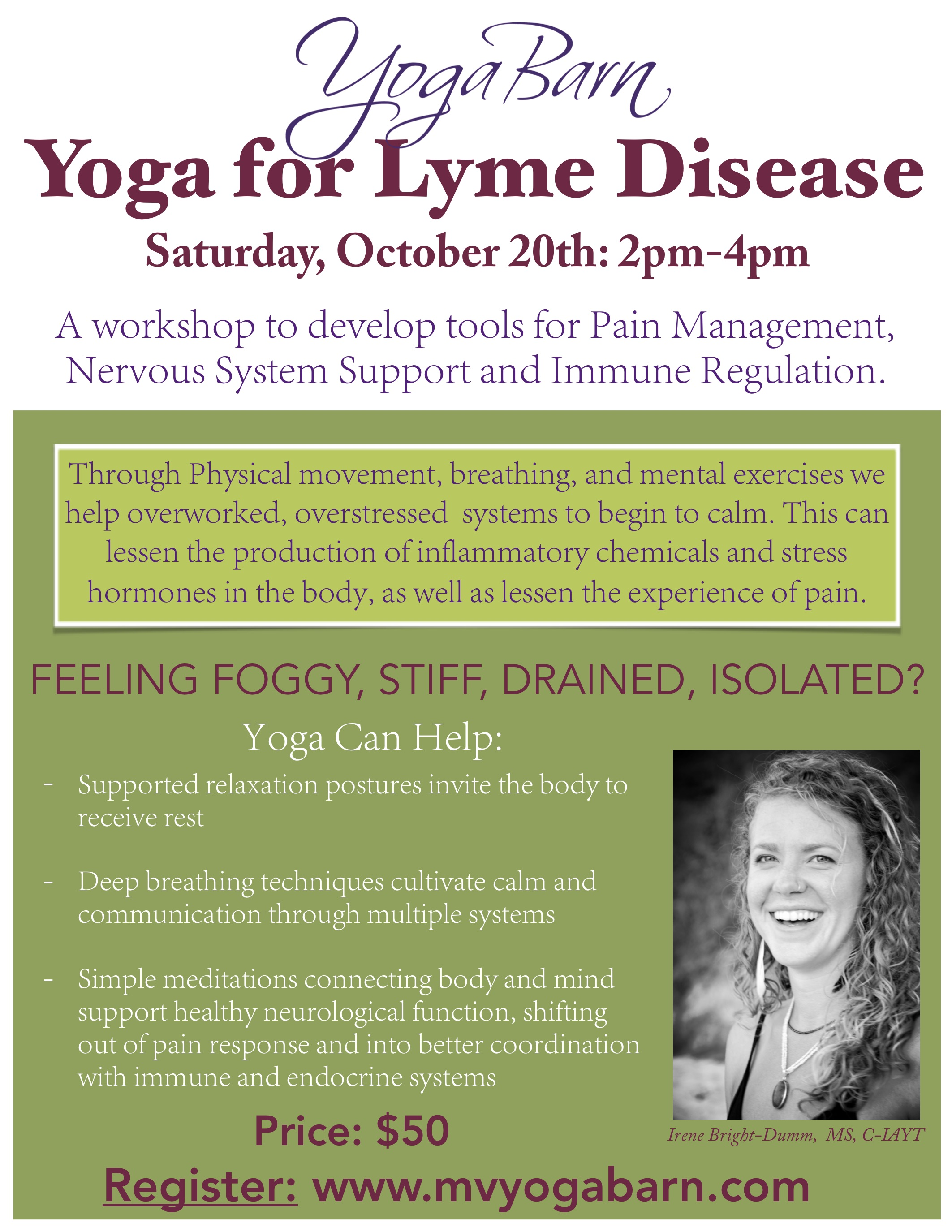 yoga for lyme
