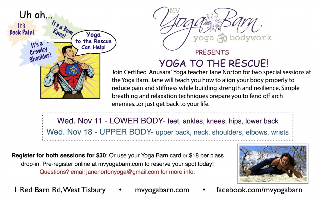 Yoga to Rescue
